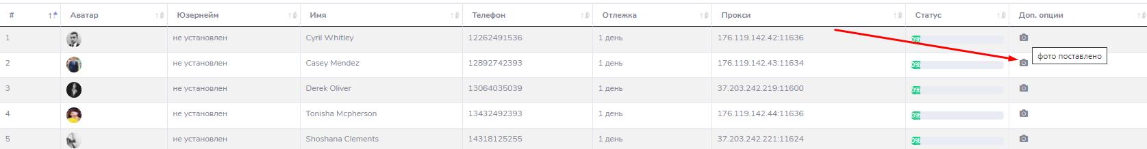 успешная установка аватаров telegram soft аккаунтов